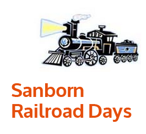 Sanborn Railroad Days logo